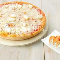 Пицца 4 сыра + Филадельфия классик Фото