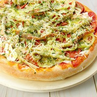 Пицца Портофино пышная Фото