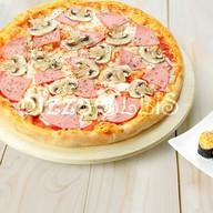 Пицца Прошутто фунги + ролл запеченный с Фото