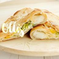 Пирог-кальцоне Сырный Фото