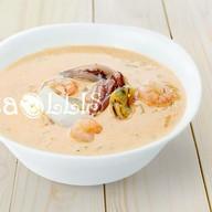 Суп сливочный морской Фото