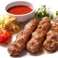 Люлю-кебаб из свинины Фото