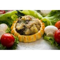 Перепечки с картофелем и грибами Фото