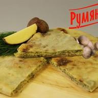 Осетинский пирог с грибами и картофелем Фото