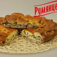 Пирог с яйцом и зеленым луком Фото