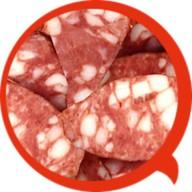 Итальянская свиная колбаска Фото