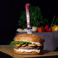 Грибной бургер Фото