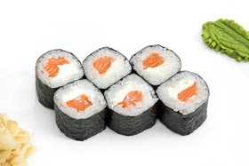 Мини ролл сливочный лосось - Фото