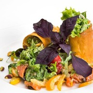 Фреш салат с лососем Фото