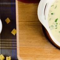 Сырный суп с телятиной и овощами Фото