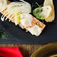 Тар-тар из лосося с дыней Фото