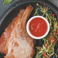 Свиная корейка-гриль с домашней аджикой Фото