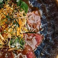 Татаки из говядины с понзу Фото