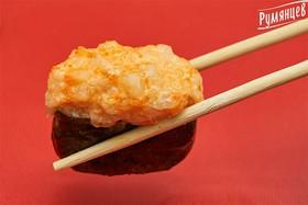 Острые суши лососем - Фото