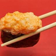 Острые суши лососем Фото