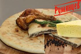 Осетинский пирог с курицей и сыром - Фото