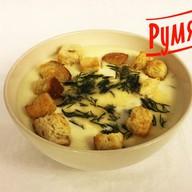 Сливочно-сырный суп Фото