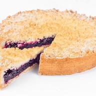 Венский пирог с черной смородиной Фото