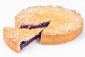 Венский пирог с черной смородиной - Фото