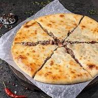Осетинский пирог с говядиной и фасолью Фото