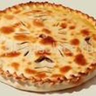 Фирменный пирог Солнце с говядиной Фото