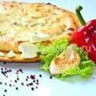 Пирог с сыром и ветчиной Фото