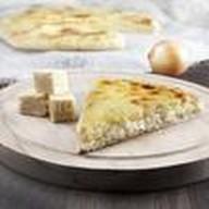 Пирог с картофелем и жареным луком Фото