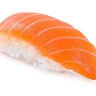 Нигири суши лосось Фото