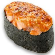 Запеченные суши лосось Фото