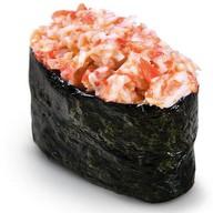 Спайси суши снежный краб Фото