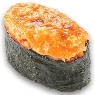 Запеченные суши креветка Фото