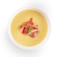 Суп кукурузный с крабом Фото