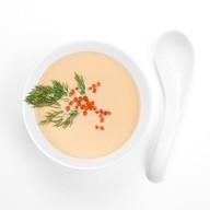 Крем-суп из лосося Фото