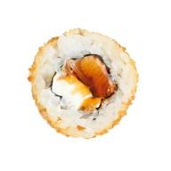 Темпура с копченым лососем Фото