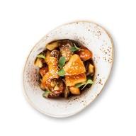 Лосось в соусе терияки с грибами Фото
