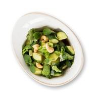 Салат из битых огурцов в соевом соусе Фото