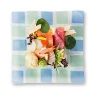 Тираси суши ассорти из морепродуктов Фото