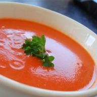 Крем суп с помидором Фото