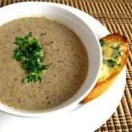 Суп-пюре с грибами Фото