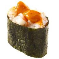 Спайс-суши креветка Фото
