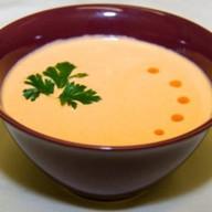 Крем суп с лососем Фото