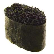 Черная тобико Фото