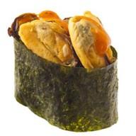 Спайс-суши мидии Фото