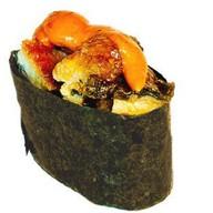 Спайс-суши угорь Фото