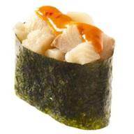 Спайс-суши с окунем Фото