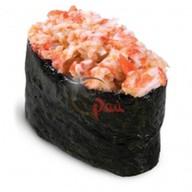Острые суши краб Фото