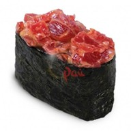 Острые суши тунец Фото