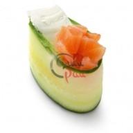 Каппа суши копченый лосось + сыр Фото