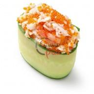 Каппа суши краб в спайси соусе Фото