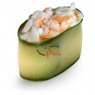 Каппа суши креветка в спайси соусе Фото